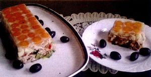 Salata de pui in aspic