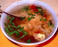 Ciorba de salau cu orez