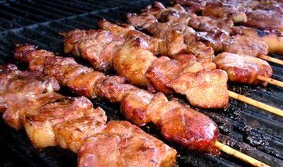 Frigarui de porc in sos de soia