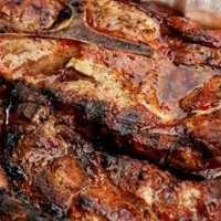 Friptura de porc marinata la gratar