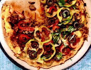 Fritatta_cu_carne_legume_si_masline
