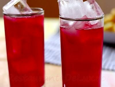 Limonada cu aroma de sfecla rosie
