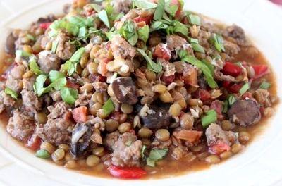 Salata de linte cu ceapa