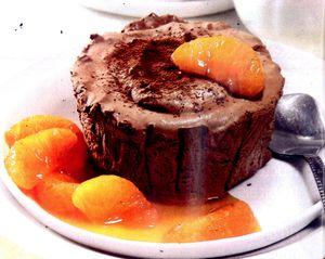 Parfait_de_ciocolata_cu_sos_de_mandarine