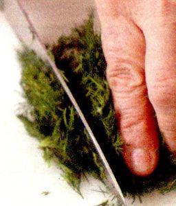 Mancare de marar verde