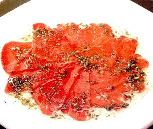 Rulouri de carpaccio