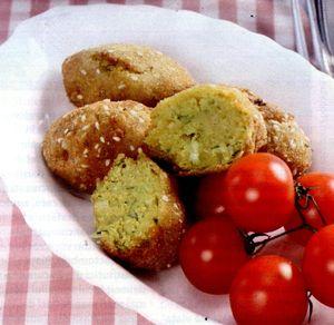 Chiftelute de linte cu usturoi