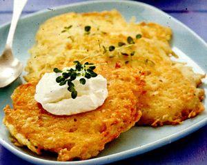 Chiftele de cartofi cu verdeata