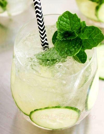 Cocktail cu vodka si aroma de menta