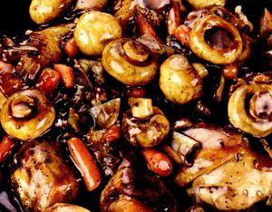 Mancarica de ciuperci cu marar