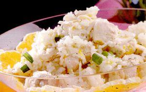 Salata de orez cu ton si dovleac