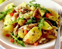 Salata cu ton si cartofi
