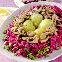 Salata de varza alba si varza rosie
