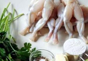 Pui de balta condimentati cu sos de ceapa si usturoi