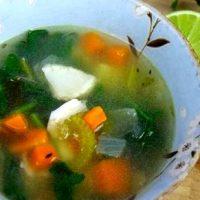 Supa de peste cu coriandru