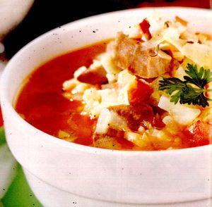 Supa de varza murata