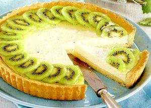 Tarta de kiwi