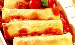 Cannelloni cu carne de vita si porc