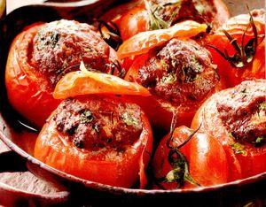 Rosii umplute cu carne tocata