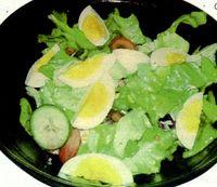 Salata de oua si ceapa verde