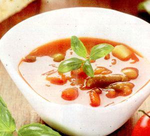Supă de fasole albă si legume