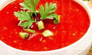 Supa de rosii cu cartofi