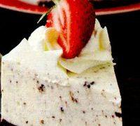 Cheesecake cu frisca si capsuni
