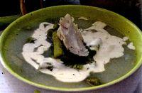 Ciorba de fasole verde cu ciolan afumat