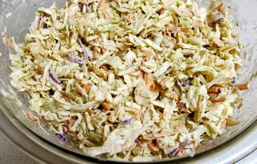Peste la cuptor cu salata in tortilla