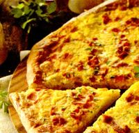 Pizza picanta cu bacon