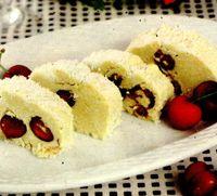 Salam_de_ciocolata_alba_cu_cirese_si_cocos
