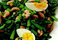 Salata_rapida_cu_fasole_verde_si_ciuperci