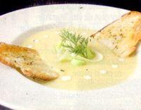Supa crema de praz cu orez