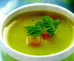 Supa de dovlecel cu marar