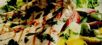 Cotlet de porc cu legume sotate