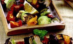 Salau cu legume sote