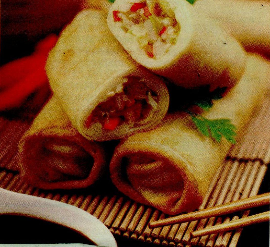 Pachetele de primavara cu sos de soia