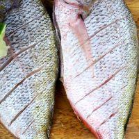 Peşte la cuptor