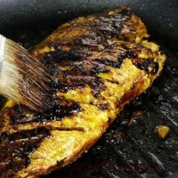 Peşte la tigaie cu dovlecei