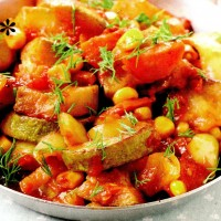 Ragout de legume cu pasta de rosii