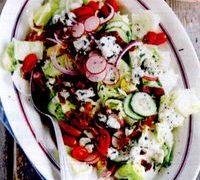 Salata asortata cu ridichi