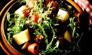 Salata_cu_jambon_branza_si_cicoare