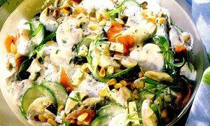 Salata_cu_jambon_ciuperci_si_castraveti