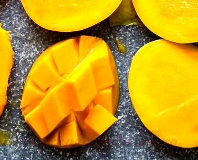 Suc de mango verde