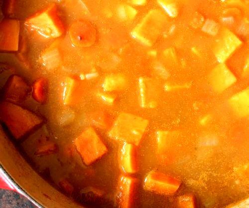 Supa de cartofi si gulii