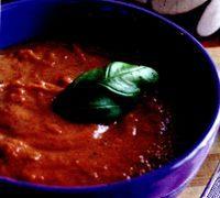 Supa-crema cu ceapa si rosii