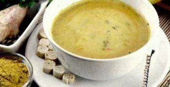 Supa crema de legume cu parmezan