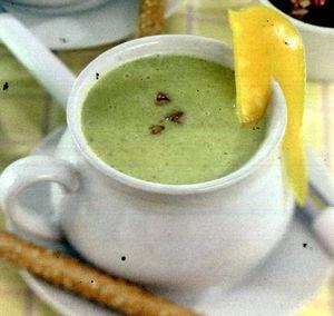 Supa de mazare cu orez