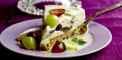 Prajitura-tort cu struguri