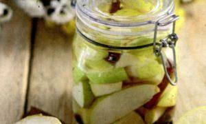 Salata de fructe din compot
